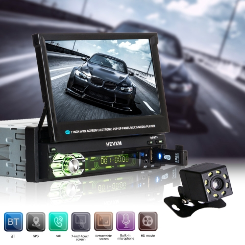 Universal 7inch Scale Touch Screen MP5 Player contains GPS with 8 night vision lights cameraCar Accessories<br>Universal 7inch Scale Touch Screen MP5 Player contains GPS with 8 night vision lights camera<br>