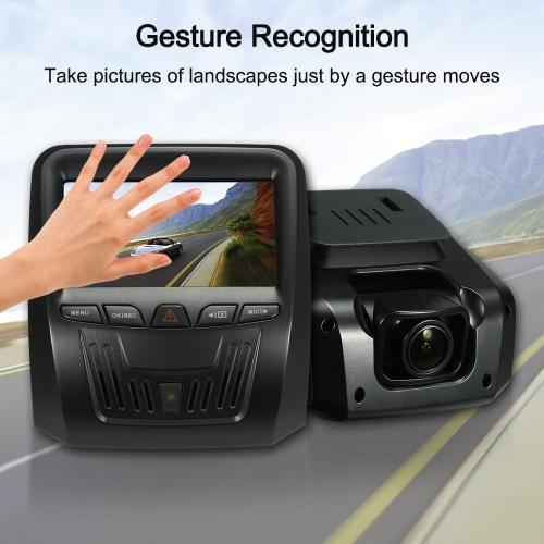Dash Cam 1296P Car DVR Camera Gesture Recognition / FCWS / LDWS / Parking Monitor / Motion DetectionCar Accessories<br>Dash Cam 1296P Car DVR Camera Gesture Recognition / FCWS / LDWS / Parking Monitor / Motion Detection<br>