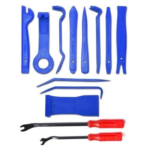 13pcs Auto Car Audio Radio Interior Door Panel DIY Plastic Demolition Installation Pry Tool Repair Tools Kit