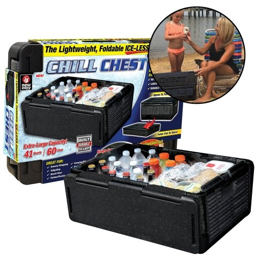 Caisse isolée de voiture de refroidisseur de coffre de Chill comme vu à la télé