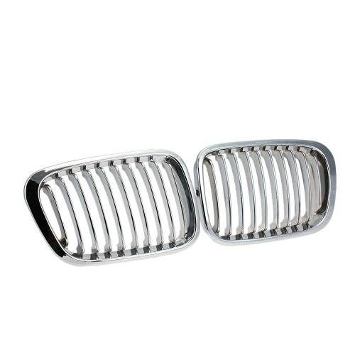 One Pair Plated Chrome Silver Front Grille Grilles for BMW E46 4 Door 98-01Car Accessories<br>One Pair Plated Chrome Silver Front Grille Grilles for BMW E46 4 Door 98-01<br>