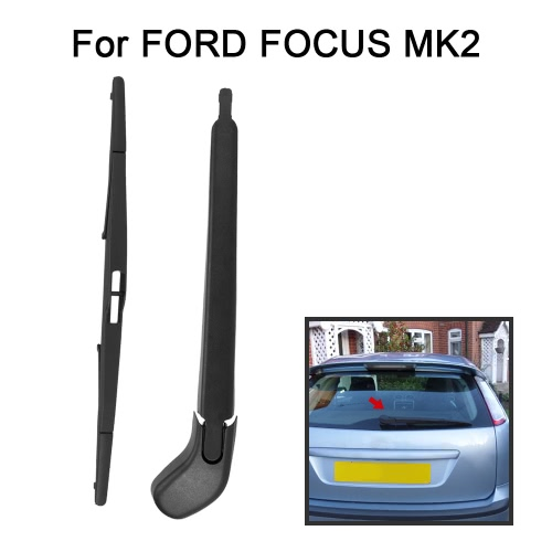 Car Rear Window Windshield Wiper Arm &amp; Blade Complete Replacement Set for FORD FOCUS MK2Car Accessories<br>Car Rear Window Windshield Wiper Arm &amp; Blade Complete Replacement Set for FORD FOCUS MK2<br>