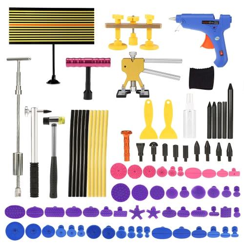 Paintless Dent Repair Tool Kit LED Checking Line Board Dent Lifter Puller Slide Hammer Tap DownCar Accessories<br>Paintless Dent Repair Tool Kit LED Checking Line Board Dent Lifter Puller Slide Hammer Tap Down<br>
