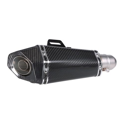 51 mm Carbon Fiber Refit Exhaust Muffler Pipe Small Hexagon Style for Motorcycles ATV UniversalCar Accessories<br>51 mm Carbon Fiber Refit Exhaust Muffler Pipe Small Hexagon Style for Motorcycles ATV Universal<br>