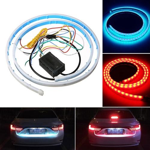 Flexible LED Brake Turn Signal Reverse Warning Flash LightsCar Accessories<br>Flexible LED Brake Turn Signal Reverse Warning Flash Lights<br>