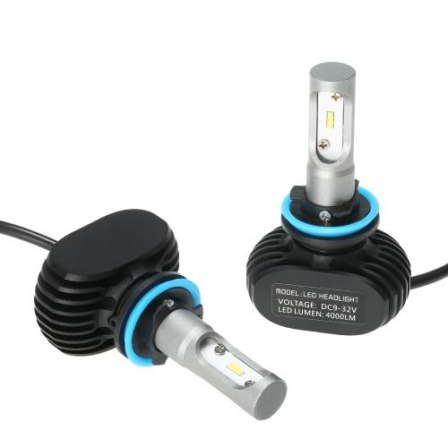 Car Headlights Kit for H1 S1 50000mW  2400000mcd 6000K White led headlights Bulbs Pair HIDCar Accessories<br>Car Headlights Kit for H1 S1 50000mW  2400000mcd 6000K White led headlights Bulbs Pair HID<br>