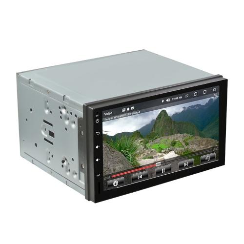 MD-RT1009 Android 8.0 Reproductor multimedia para automóvil 7 pulgadas con pantalla táctil Navegación GPS Quad Core 4GB RAM 32GB ROM