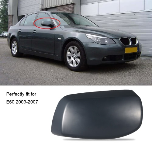 Right Rearview Mirror Shell Cover Car Door Side View Protection Cap Housing Case for BMW E60 2003-2007Car Accessories<br>Right Rearview Mirror Shell Cover Car Door Side View Protection Cap Housing Case for BMW E60 2003-2007<br>