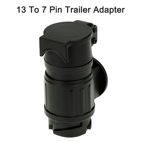 13 To 7 Pin Trailer Adapter Frosted Trailer Wiring Connector 12V Tow Bar Towing Plug N TypeCar Accessories<br>13 To 7 Pin Trailer Adapter Frosted Trailer Wiring Connector 12V Tow Bar Towing Plug N Type<br>
