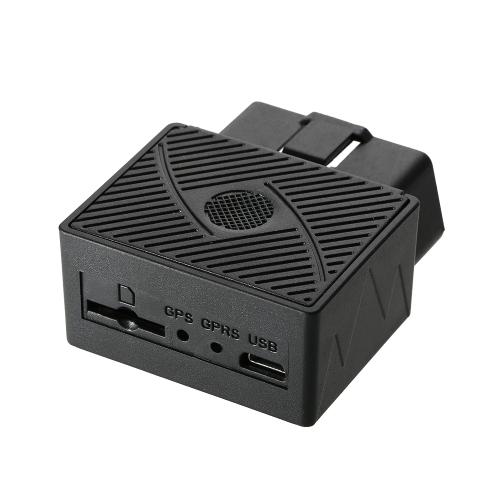 Spina e gioco del dispositivo di inseguimento del veicolo di GSM di OBDII dell'automobile dell'inseguitore di OBD GPS con il software & APP