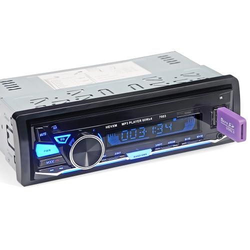 Luces dominantes coloridas del altavoz ruidoso estéreo multifuncional de la radio de coche 4 multifuncionales luces