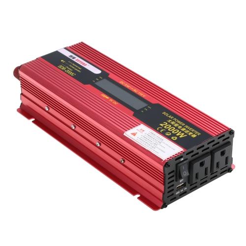 2000W WATT Spitzen-Auto-Wechselrichter