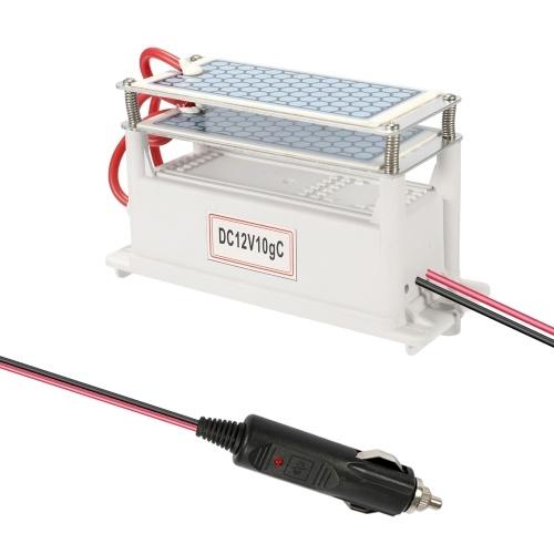 Ozonizador portátil 10g / h do gerador de placa do ozônio da limpeza da esterilização DC12V