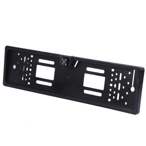 Камера заднего вида CCD HD Универсальная европейская камера заднего вида Рамки номерного знака ночного видения со светодиодной автомобильной камерой Водонепроницаемая