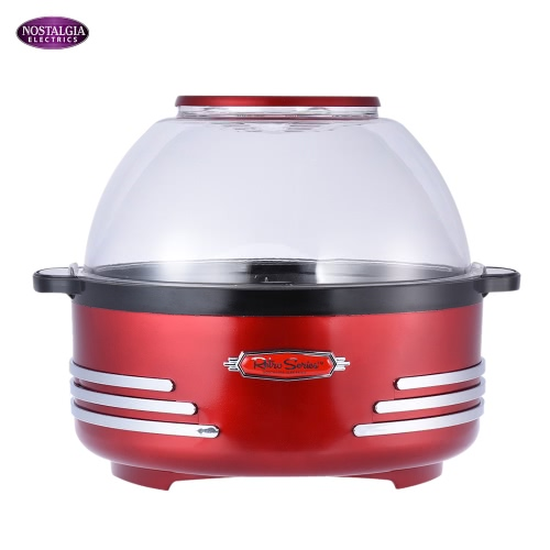 Nostalgia SP300 Retro Series Electric Household Stirring Popcorn Maker Machine Corn Popper with Measuring Spoon CupHome &amp; Garden<br>Nostalgia SP300 Retro Series Electric Household Stirring Popcorn Maker Machine Corn Popper with Measuring Spoon Cup<br>