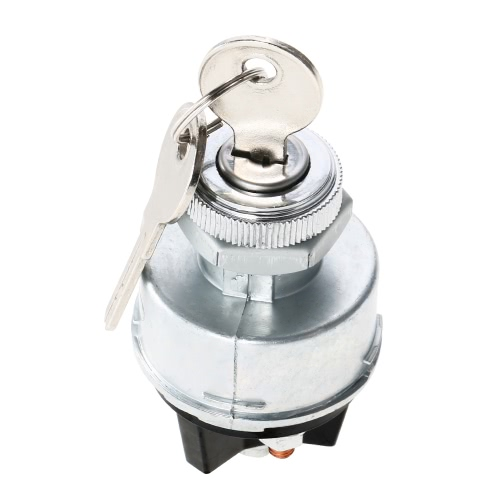 Ignition Switch with 2 Keys Universal for Car Tractor TrailerCar Accessories<br>Ignition Switch with 2 Keys Universal for Car Tractor Trailer<br>