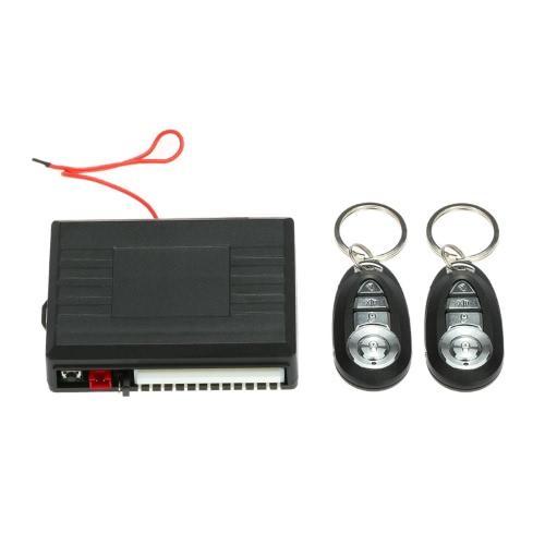 Système d'entrée sans clé de verrouillage de porte de voiture avec le bouton de coffre & Horn Central Control à distance Kit de verrouillage pour VW
