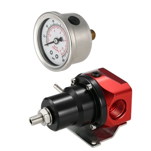 AN10 Fuel Pressure Regulator Adjustable Bypass 2-Port Rising RateCar Accessories<br>AN10 Fuel Pressure Regulator Adjustable Bypass 2-Port Rising Rate<br>