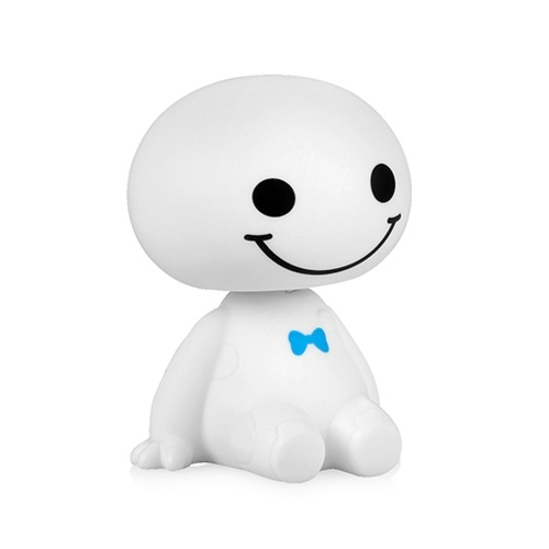 Cute Baymax Robot Agitazione testa bambola per bambini / auto / ufficio / casa