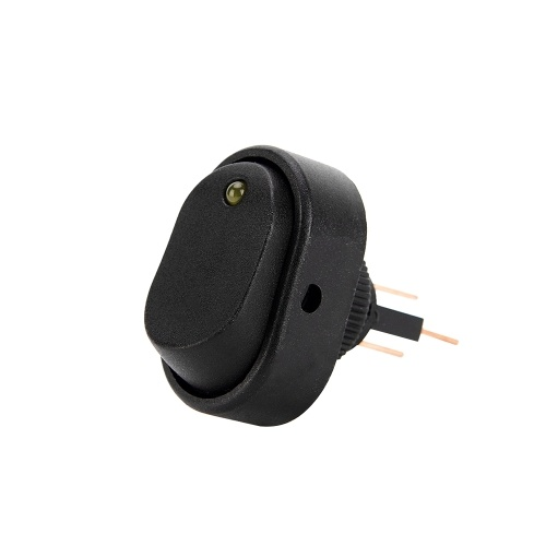 4Pcs Interruttore luce LED a 3 pin Interruttore ON / OFF a bilanciere Interruttore SPST