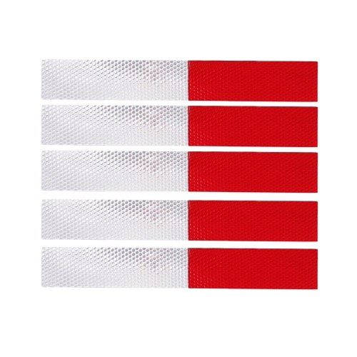 Quelima Reflective Decal Stickers Car Styling Safty Guarding For Vehicle Truck School Bus Freight Car
