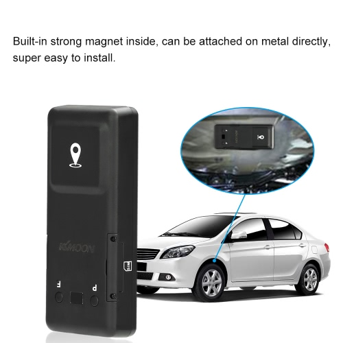 KKmoon GPS LBS Positioning Tracker Real Time Location SMS APP Tracking Sound Alarm Monitoring for iOS AndroidCar Accessories<br>KKmoon GPS LBS Positioning Tracker Real Time Location SMS APP Tracking Sound Alarm Monitoring for iOS Android<br>