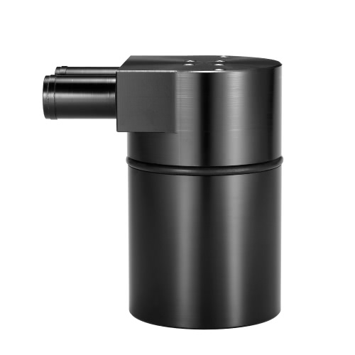 Universal Aluminum Reservoir Oil Catch Can Tank with Built-in FilterCar Accessories<br>Universal Aluminum Reservoir Oil Catch Can Tank with Built-in Filter<br>