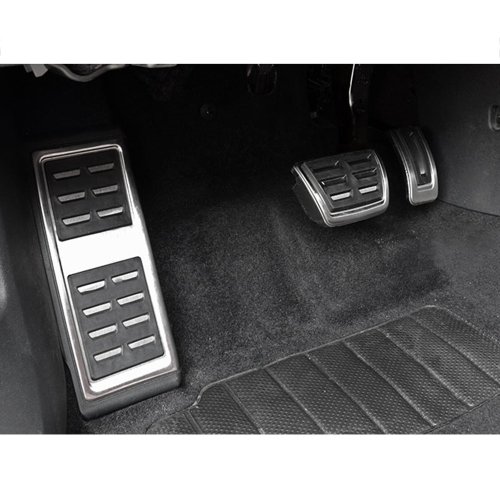 AT Car Fuel Brake Footrest Pedals for VW Golf 7 VII GTi MK7  Audi A3  Left Driving CountryCar Accessories<br>AT Car Fuel Brake Footrest Pedals for VW Golf 7 VII GTi MK7  Audi A3  Left Driving Country<br>