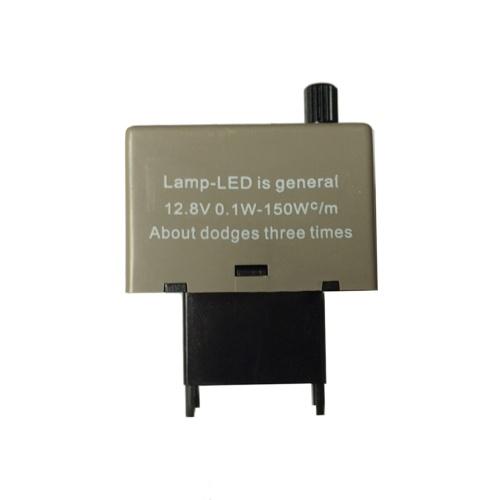 Vitesse réglable 8 Pin LED électronique clignotant relais 12V 150W Fix clignotant pour Toyota Lexus couleur grise