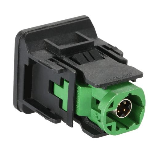 KKmoon USB Switch Adapter Plug Socket for RCD510 RCD310 for Volkswagen GOLF MK6 BORA