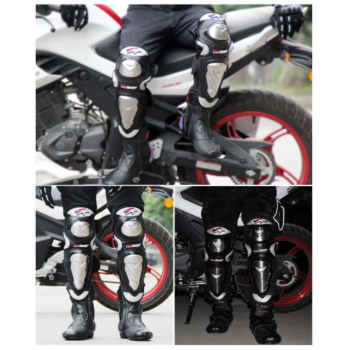 PRO-BIKER Knee Shin Protector Motorcycle Racing Knee Guards Protective Pads for Skating Skateboard Sports SafetyCar Accessories<br>PRO-BIKER Knee Shin Protector Motorcycle Racing Knee Guards Protective Pads for Skating Skateboard Sports Safety<br>