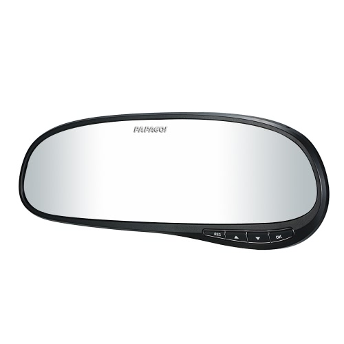 PAPAGO H60 Car DVR PPG 8030 1440P 2.7 Screen 140 Degree Angle rearview mirror Video RecorderCar Accessories<br>PAPAGO H60 Car DVR PPG 8030 1440P 2.7 Screen 140 Degree Angle rearview mirror Video Recorder<br>
