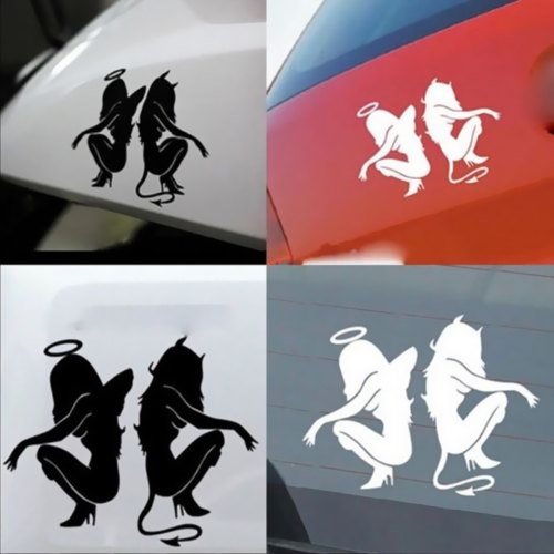 Angels and Demons Car Body Styling Sticker Removable WaterproofCar Accessories<br>Angels and Demons Car Body Styling Sticker Removable Waterproof<br>