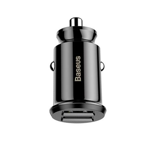 El mini cargador dual del coche del USB para la tableta del teléfono móvil GPS 3.1A ayuna cargador