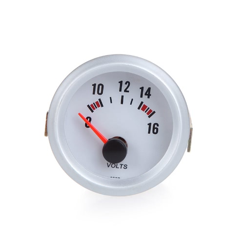 Voltage Meter Gauge Voltmeter for Auto Car 2 52mm 8~16V Blue LED LightCar Accessories<br>Voltage Meter Gauge Voltmeter for Auto Car 2 52mm 8~16V Blue LED Light<br>