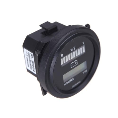 12V/24V/36V/48V/72V LED Digital Battery Status Charge Indicator with Hour Meter GaugeCar Accessories<br>12V/24V/36V/48V/72V LED Digital Battery Status Charge Indicator with Hour Meter Gauge<br>