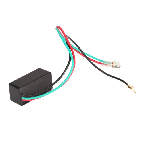 Universal Motorcycle LED Halogen Turn Signal Light Flasher Relay Blinker 3 PinCar Accessories<br>Universal Motorcycle LED Halogen Turn Signal Light Flasher Relay Blinker 3 Pin<br>