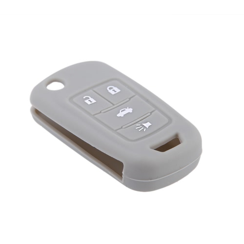 Silicone Car Remote Fob Key Case Cover for Fr New Regal New Lacrosse 4 ButtonCar Accessories<br>Silicone Car Remote Fob Key Case Cover for Fr New Regal New Lacrosse 4 Button<br>