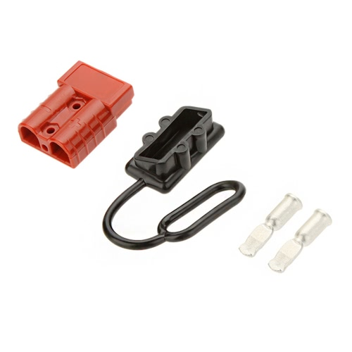 50A Battery Quick Connect/Disconnect Wire Harness Plug Winch Trailer Connector KitCar Accessories<br>50A Battery Quick Connect/Disconnect Wire Harness Plug Winch Trailer Connector Kit<br>