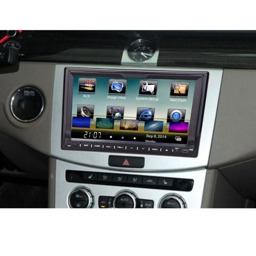 Universal 7 HD Touch Screen GPS 2 Din Car DVD/USB/SD PlayerCar Accessories<br>Universal 7 HD Touch Screen GPS 2 Din Car DVD/USB/SD Player<br>