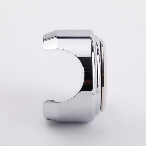 7/8 1Motorcycle Handlebar Silver White Dial Thermometer for Harley Cruiser ChopperCar Accessories<br>7/8 1Motorcycle Handlebar Silver White Dial Thermometer for Harley Cruiser Chopper<br>