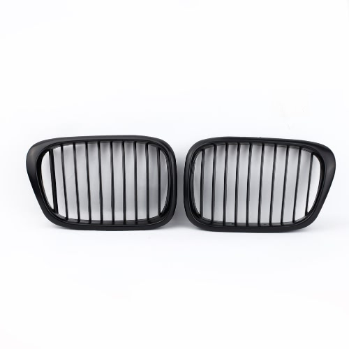 2Pcs Matte Black Front Kidney Grille for BMW E39 5 Series 1998-2003Car Accessories<br>2Pcs Matte Black Front Kidney Grille for BMW E39 5 Series 1998-2003<br>