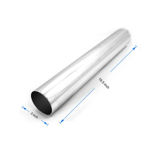 "Universal Car Air Intake Tubes Aluminum Pipe High Flow 3"" Diameter Cold Air Injection Intake SystemCar Accessories<br>Universal Car Air Intake Tubes Aluminum Pipe High Flow 3"" Diameter Cold Air Injection Intake System<br>"