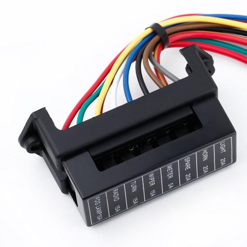 8 Way DC32V Circuit Car Trailer Auto Blade Fuse Box Block Holder ATC ATO 2-input 8-ouput WireCar Accessories<br>8 Way DC32V Circuit Car Trailer Auto Blade Fuse Box Block Holder ATC ATO 2-input 8-ouput Wire<br>