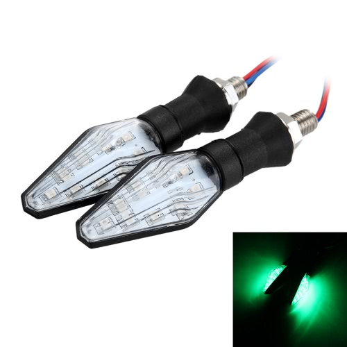 2Pcs 12V Clear Lens Supper Bright Motorcycle Turn Signal Lights 9 LED IndicatorHome &amp; Garden<br>2Pcs 12V Clear Lens Supper Bright Motorcycle Turn Signal Lights 9 LED Indicator<br>