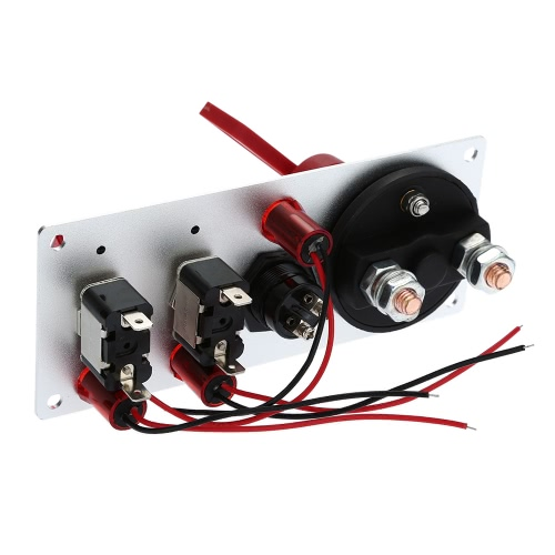 Flip-up Start Ignition 2 Rockers Switch Panel Button DIY Car Modification Switch with LED Indication 12V Accessory for Racing SporCar Accessories<br>Flip-up Start Ignition 2 Rockers Switch Panel Button DIY Car Modification Switch with LED Indication 12V Accessory for Racing Spor<br>