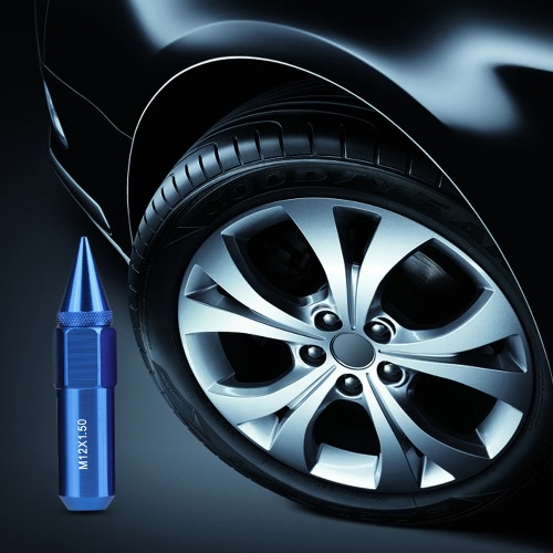 20pcs M12*1.5 Spiked Aluminium Extended Car Wheel Lug Nut High Strength HardnessCar Accessories<br>20pcs M12*1.5 Spiked Aluminium Extended Car Wheel Lug Nut High Strength Hardness<br>