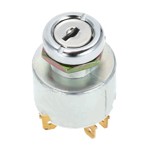 12V Universal Ignition Park On/Off Switch with 2 Keys Equivalent Replacement SPB501Car Accessories<br>12V Universal Ignition Park On/Off Switch with 2 Keys Equivalent Replacement SPB501<br>
