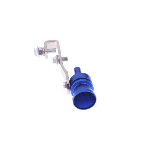 Turbo Sound Whistle Exhaust Pipe Tailpipe Blow-off Valve Aluminum Size L BlueCar Accessories<br>Turbo Sound Whistle Exhaust Pipe Tailpipe Blow-off Valve Aluminum Size L Blue<br>