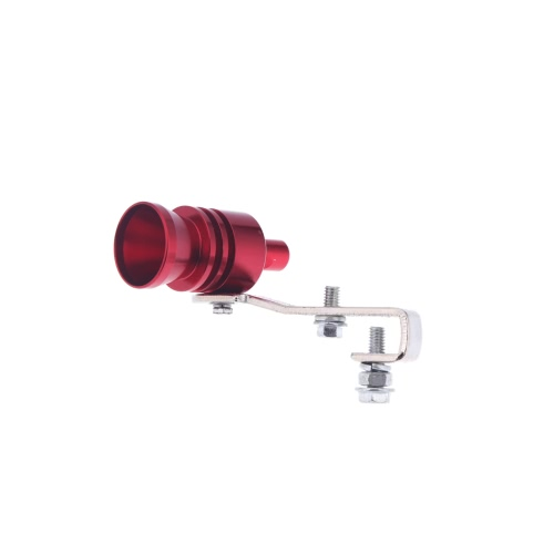 Turbo Sound Whistle Exhaust Pipe Tailpipe Blow-off Valve Aluminum Size L RedCar Accessories<br>Turbo Sound Whistle Exhaust Pipe Tailpipe Blow-off Valve Aluminum Size L Red<br>